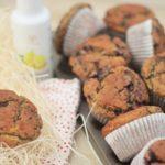 Muffins de Arándanos con Aceite de Limón