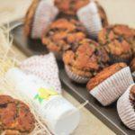 Muffins de Arándanos y Avena con Aceite de Limón Azada