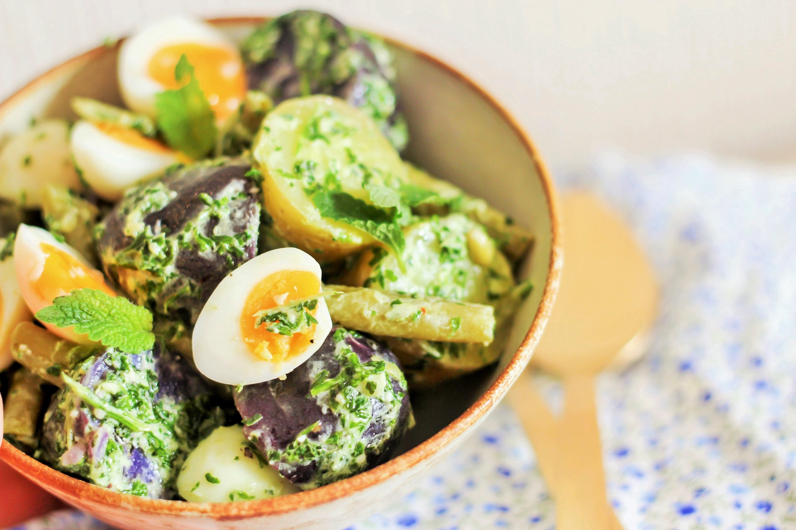 Sommerkartoffel-salat