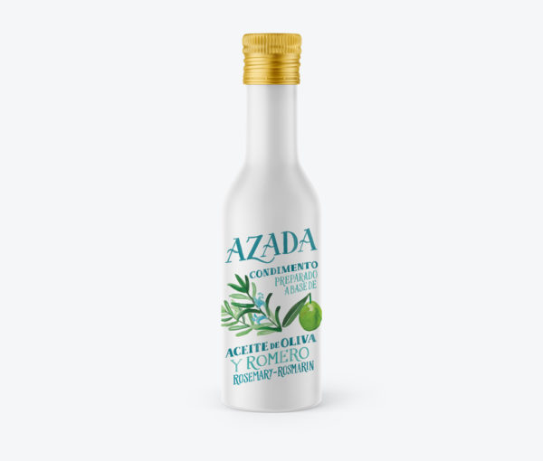 Aceite de oliva y romero