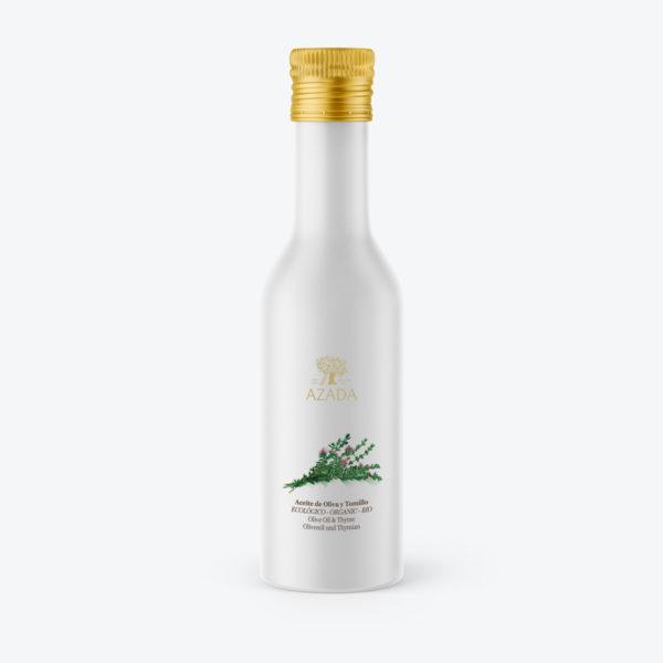 aceite de oliva con tomillo