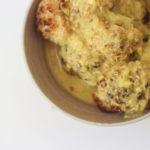 Coliflor al curry asada