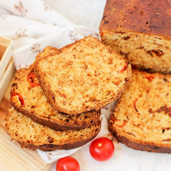 Pan de tomate sin gluten